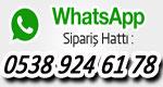sineklik siparis whatsapp